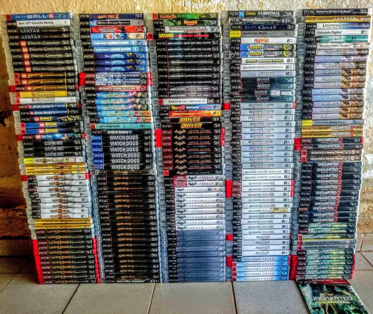8676517ec286a Jogos Playstation 3 Ps3 Originais M. Fisica Leia A Descriçao - R  59 ...