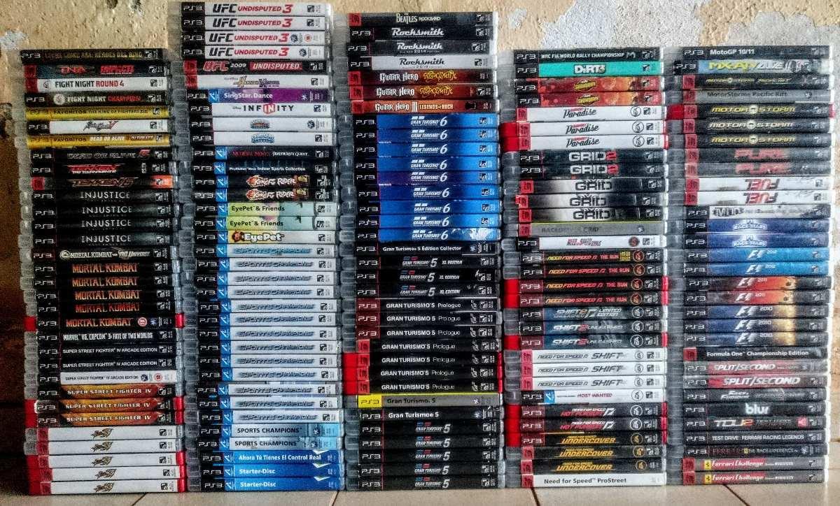 c5233355e1cc7 Jogos Playstation 3 Ps3 Originais M. Fisica Leia A Descriçao - R  56 ...