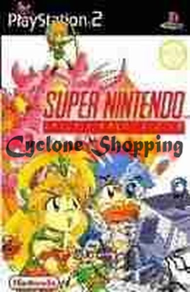 Jogos Ps2 Super Nintendo 445 Roms Ps2