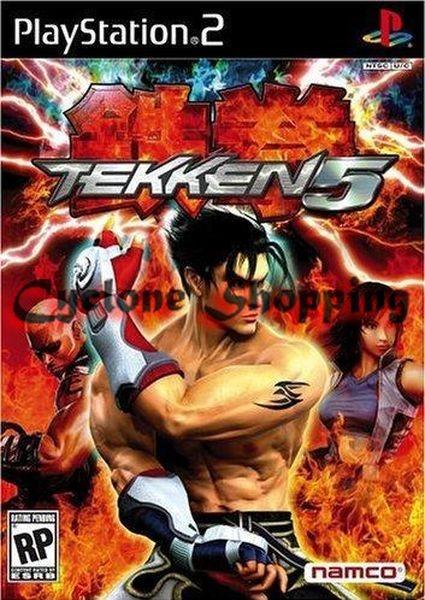 Jogos Ps2 Tekken 5 Ps2