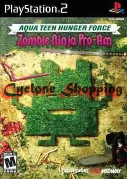 Jogos Ps2 Aqua Teen Hunger Force Ps2
