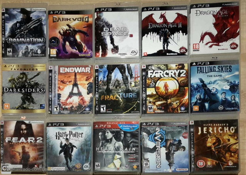 jogos ps3 (usados) - combo com 3 jogos