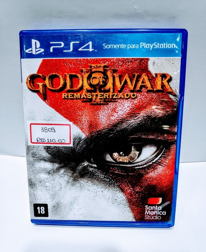 jogos ps4 / god of war lll remasterizado