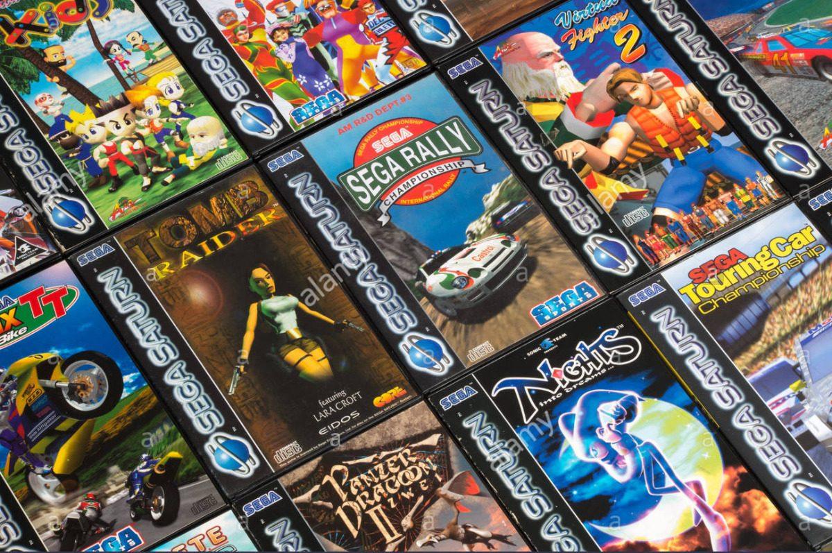 Jogos Sega Saturn - Games Patchs - Temos Todos De A Ate Z