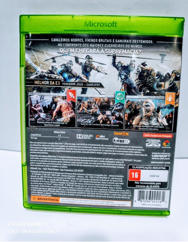 jogos xbox one for honor