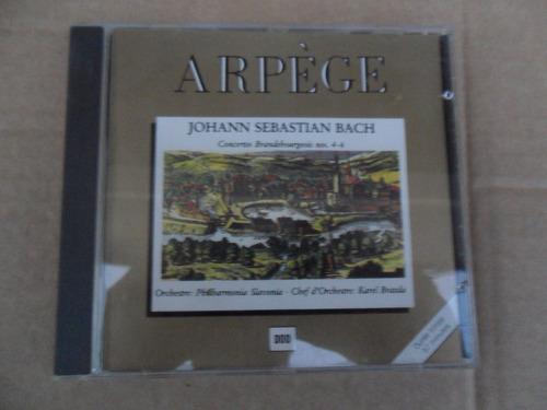 johann s. bach - phillarmonia slavonia karel brazda cd imp