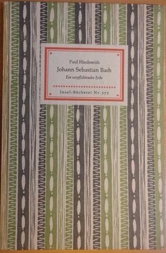 johann sebastian bach paul hindemitch