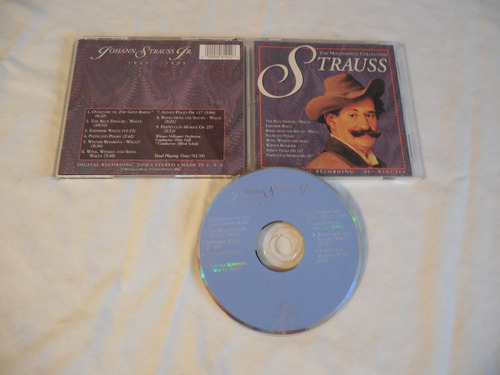 johann strauss, jr.  cd seminuevo made in usa