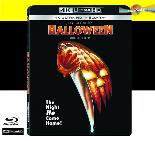 john carpenter´s halloween (1978) 4k ultra + blu-ray