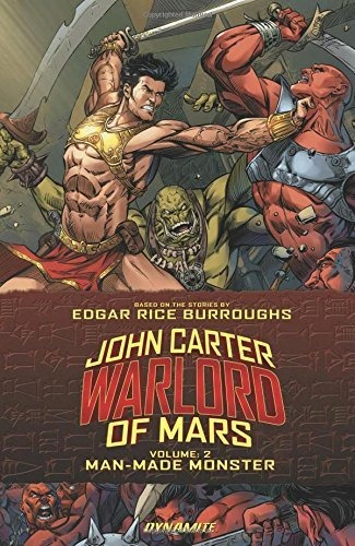 john carter: warlord of mars volume 2 : ron marz