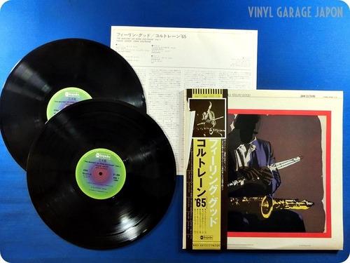 john coltrane. feelin' good.vinil duplo.importado japan 1978