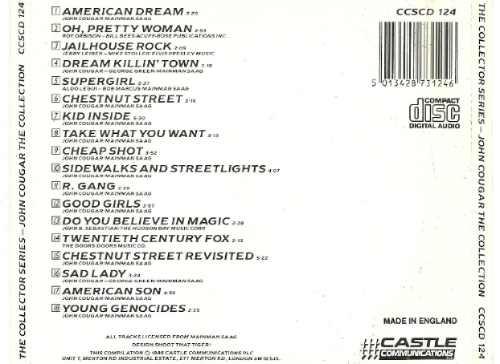 john cougar the collection cd importado