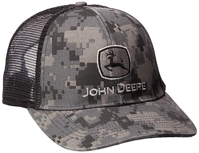 0215ad753424e john deere gorra de camuflaje digital y malla bordada para h. Producto  personalizado