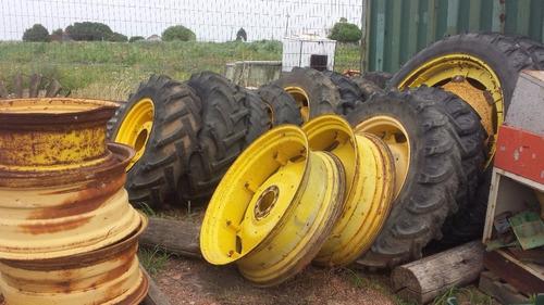 john deere llantas tractor, ruedas, centros duales