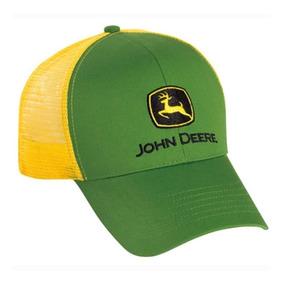 685ec0b53beb John Deere Malla Camionero Verde Amarillo Snapback Original