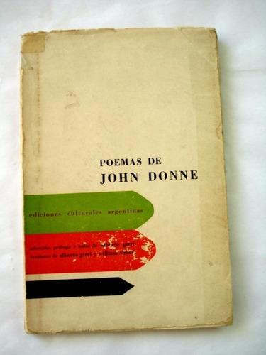 john donne, poemas - alberto girri - l12