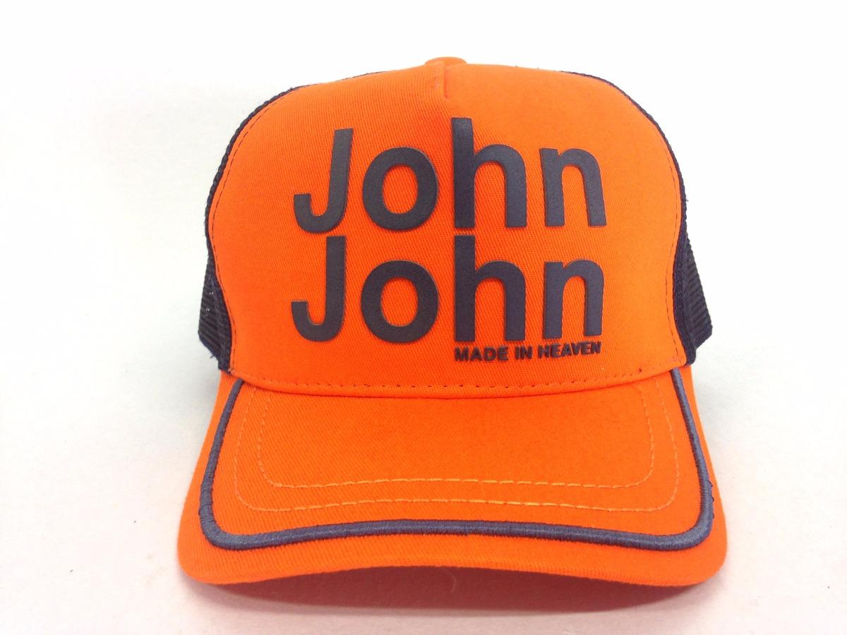 16855bfeb4609 Carregando zoom... boné logo marca john john duas cores varios modelos  original