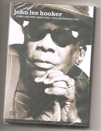 john lee hooker - come and see about me dvd lacrado