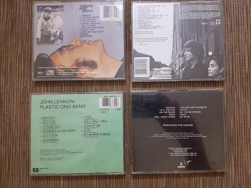 john lennon - 4 discos por separado (precio unidad)