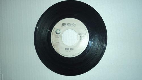 john lennon - como si empezaramos de nuevo 45 rpm 1980