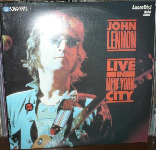 john lennon live in new york city laser disc