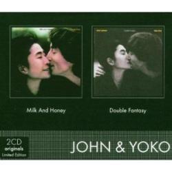 john lennon milk and honey+double fantasy box limitado