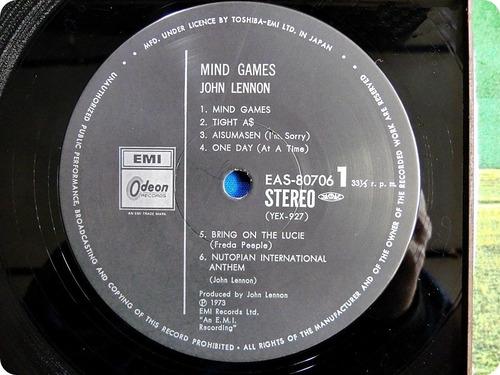 john lennon mind games vinil importado do japão com obi
