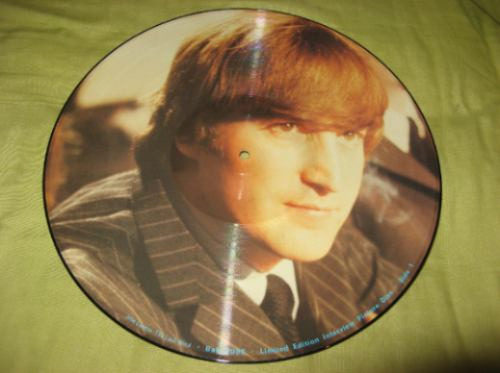 john lennon: picture disc ingles  the last word