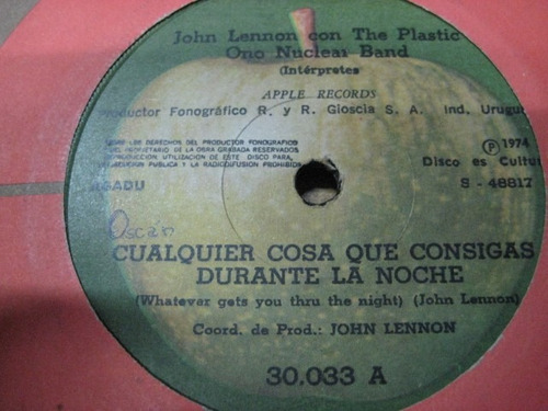 john lennon - plastic nuclear band - beatles