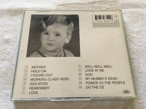 john lennon - plastic ono band - cd importado