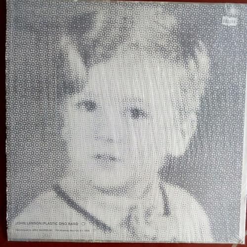 john lennon - plastic ono band - lp