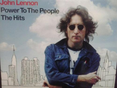 john lennon- power to the people cd (lacrado)