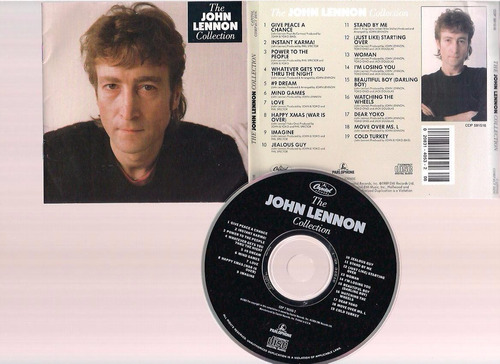 john lennon - the john lennon collection  - cd - by maceo