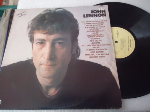 john lennon / the john lennon collection vinyl lp acetato
