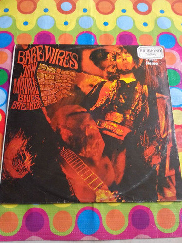 john mayall lp bare wires 1974