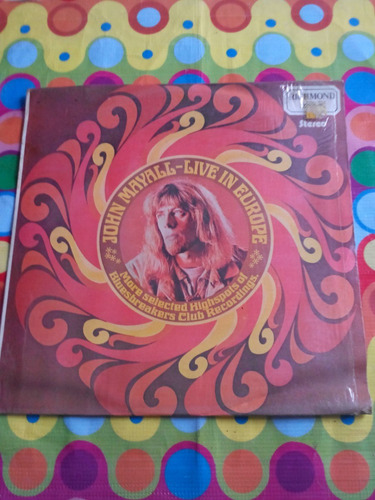 john mayall lp live in europe 1974