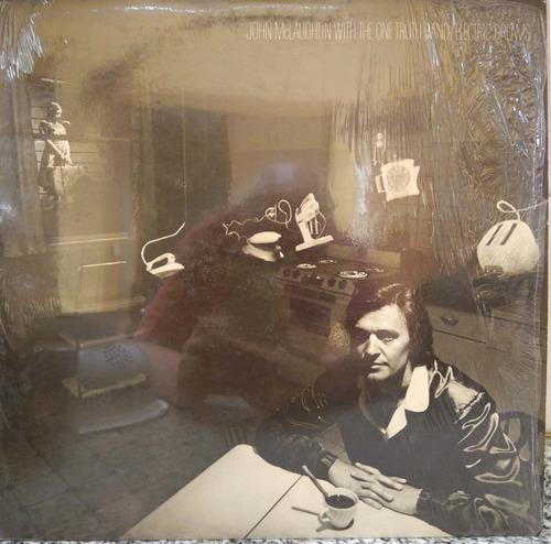 john mclaughlin - electric dreams - vinilo autografiado