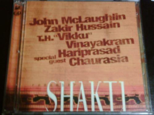 john mclaughlin - remember shakti (2cd, 1999) import usa fn4