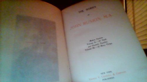 john ruskin: modern painters (completo)