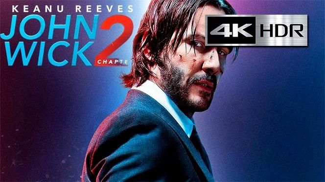 John Wick 2 4k Remux Latino / Ingles