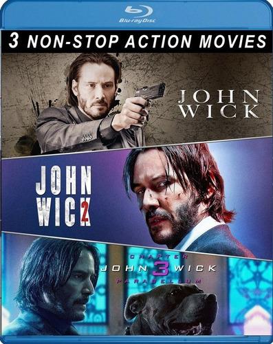 john wick bluray trilogia latino