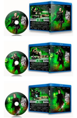 john wick coleccion completa - bluray - trilogia completa