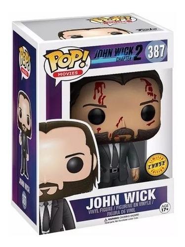 john wick funko pop coleccionable en caja juguete