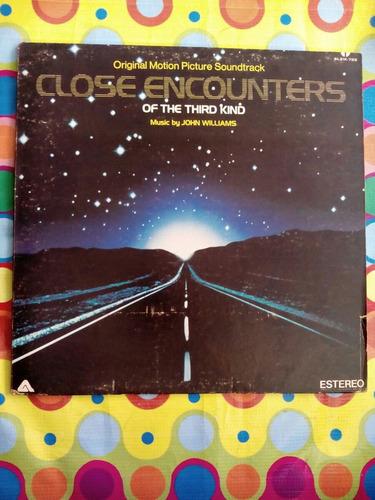 john wiliams lp1978  close encounters of the thrird kind