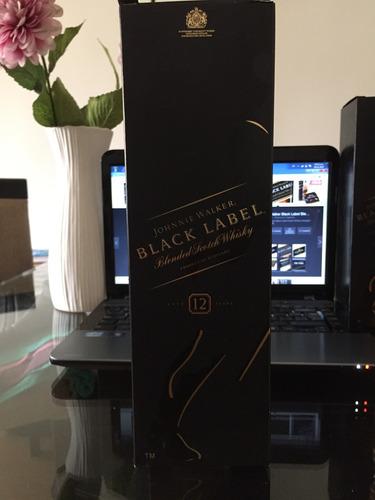 johnnie walker etiqueta negra/ original y sellado
