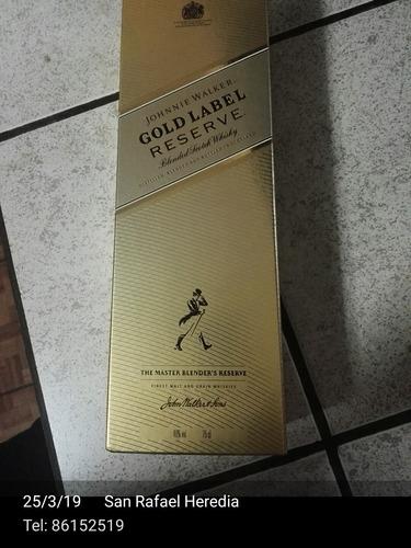 johnnie walker gold label reserve (botella) 100% original
