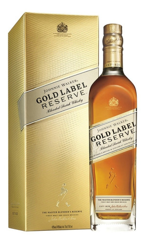 johnnie walker gold label reserve (botella) 100 % original