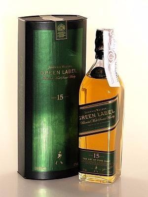 johnnie walker green label original - 20cl