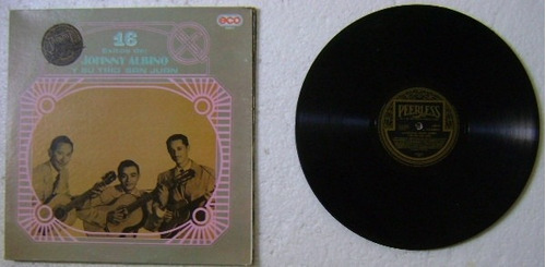 johnny albino y su trio san juan 1 disco lp vinilo