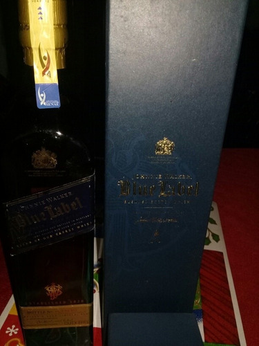 johnny azul 750ml sellada.